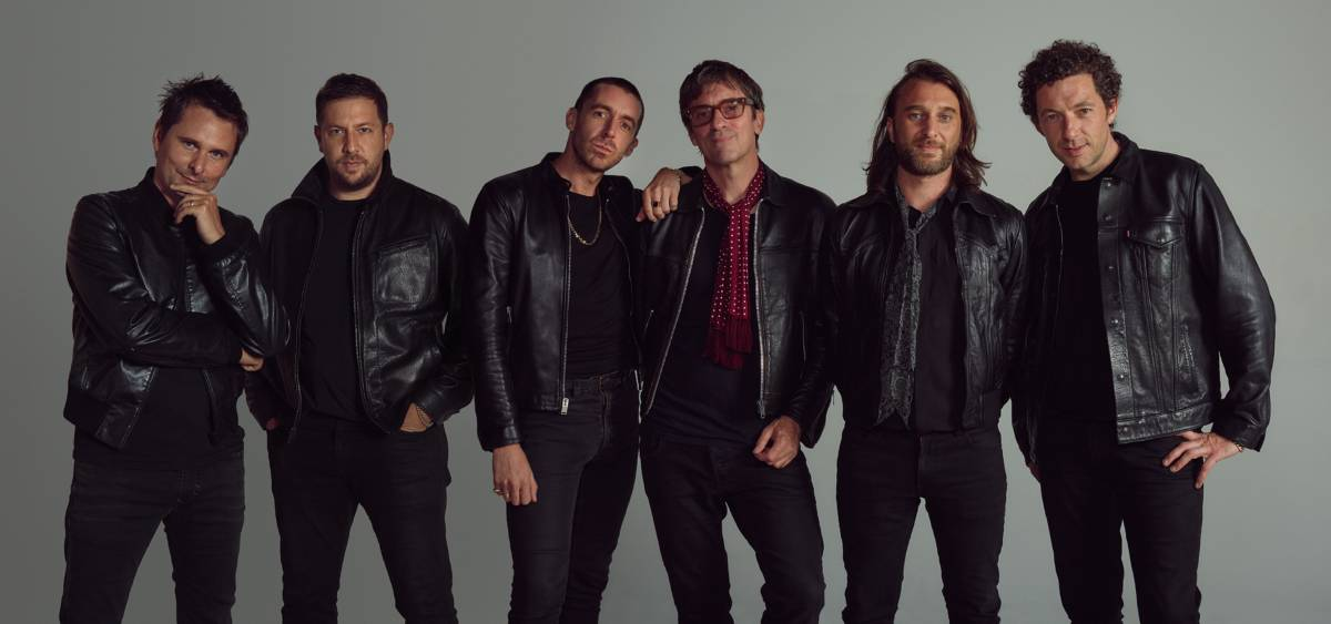 TALENTED FRIENDS: The Jaded Hearts Club are, from left, Matt Bellamy (Muse), Jamie Davis, Miles Kane (The Last Shadow Puppets), Graham Coxon (Blur), Nic Cester (Jet) and Sean Payne (The Zutons).