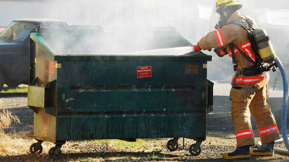 The dumpster fire that is 2020 burns less brightly